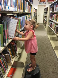 Cambree at the Library