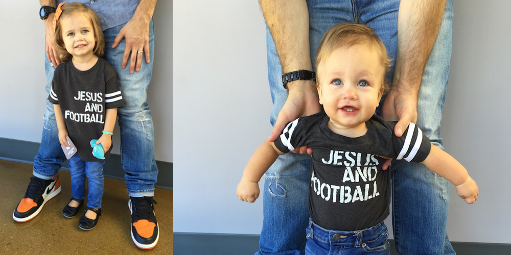 Jesus and Football